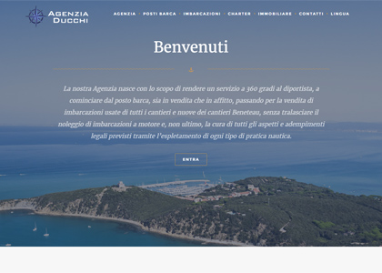 Mind design group realizzazione siti internet responsive piombino toscana creazione siti web e - Mannocci immobiliare ...